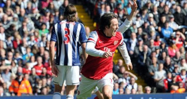 Prediksi Skor Akhir West Bromwich Albion Vs Arsenal 26 September 2013