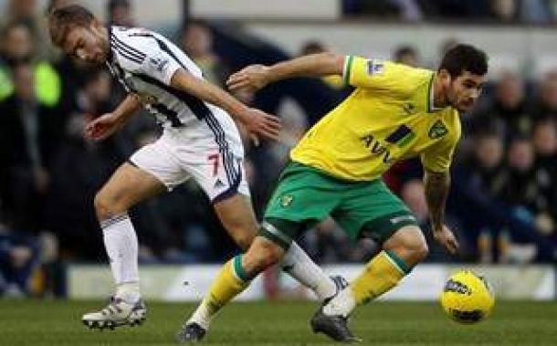 Prediksi Skor Akhir West Bromwich Albion Vs Norwich City 7 Desember 2013