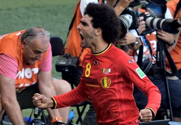 Van Gaal Isyaratkan Lepas Marouane Fellaini