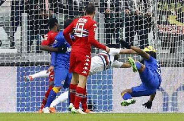 Gabbiadini Paksa Juventus Raih Satu Poin Dikandang Sendiri