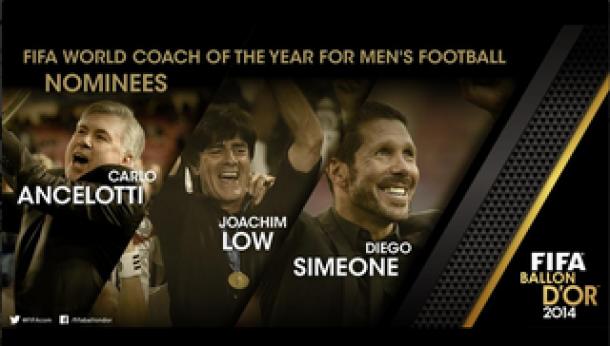 Tiga Nama Finalis Pelatih Terbaik 2014 Diumumkan FIFA