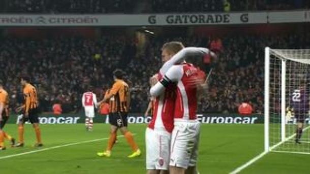 Arsenal Buat Hull City Gagal Balas Dendam Atas Laga Final Musim Lalu