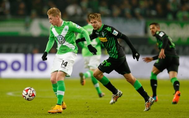 Gol Telat Monchengladbach Atas Wolfburg Disambut Megah Bayern Munchen
