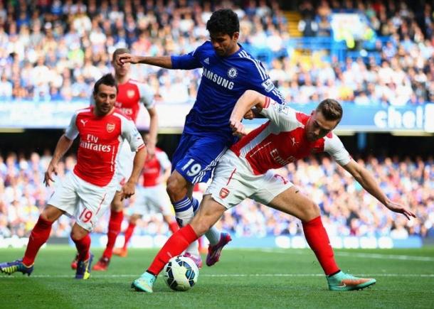 Meski Tanpa Costa, Legenda Arsenal Tetap Jagokan Chelsea
