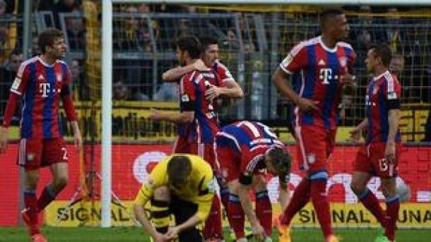 Sang Mantan Buat Bayern Munchen Kubur Dortmund Di Signal Iduna Park