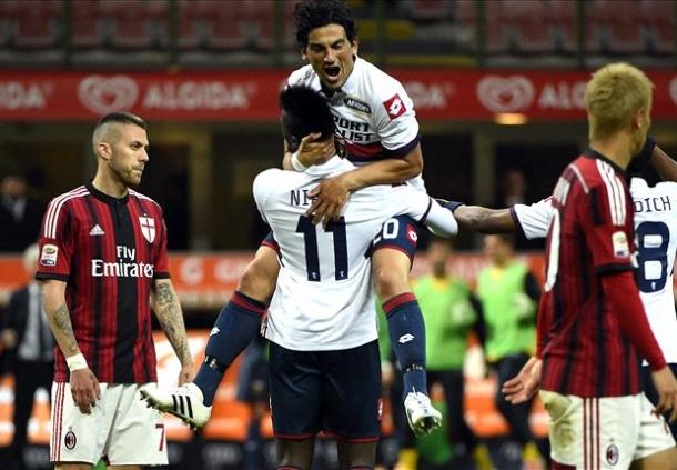 Semakin Buruk, AC Milan Kini Tumbang Dari Genoa Di San Siro