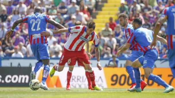 Levante Beri Kejutkan, Atletico Madrid Dipaksa Puas Dengan Satu Angka