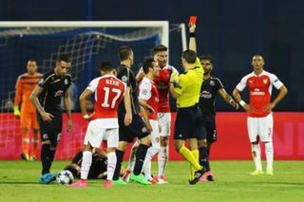 Laga Tandang Arsenal Berbuah Kekalahan Dari Dynamo Zegreb
