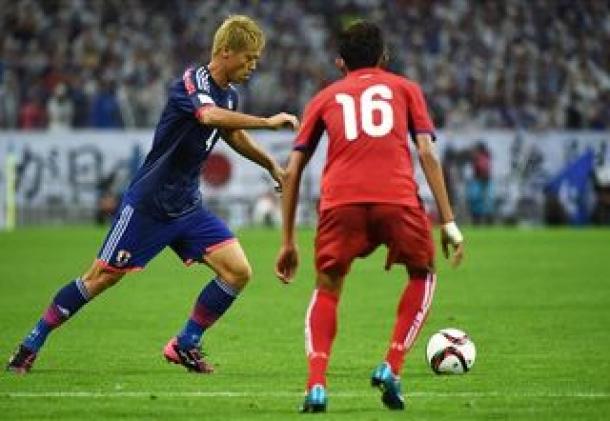 Tiga Gol Jepang Sukses Hempaskan Perlawanan Kamboja
