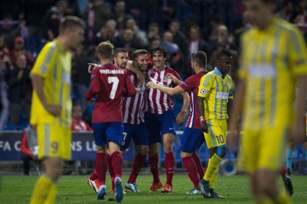 Prediksi Skor Akhir Atletico Madrid Vs Sporting Gijon 9 November 2015