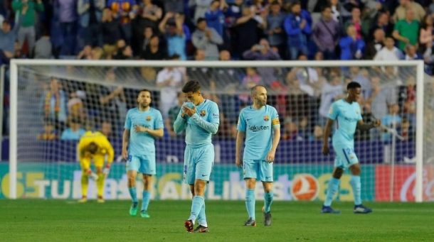 Kemanakah Messi Saat Barca Telan Kekalahan?