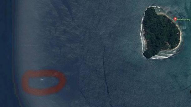 Dengan Google Maps Terbongkarlah Misteri Pesawat Tenggelam