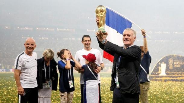 Kini Skuad Muda Prancis Berada Di Puncak Dunia