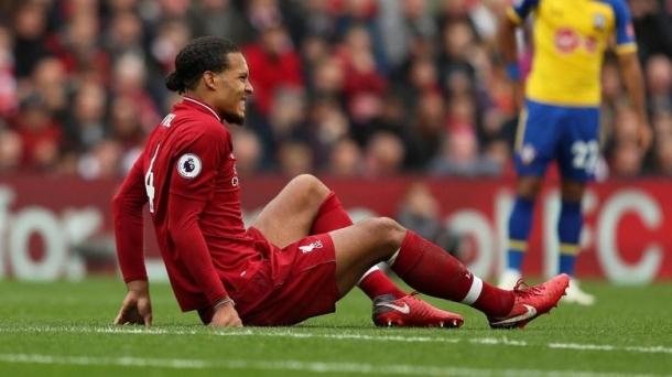 Kondisi Van Dijk Masih Belum Pasti Jelang Liverpool Melawan Chelsea.