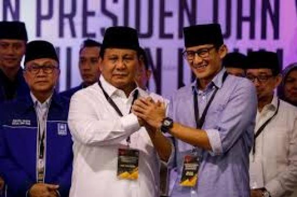 Banyak Dukungan Dari Pihak Manapun Prabowo-Sandi Merasa Senang