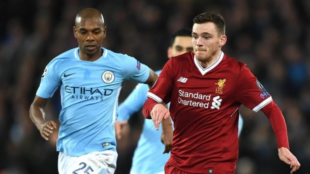 Robertson Sebut City Tak Tertekan Sama Seperti  Pada Babak Perempat Final Liga Champions
