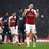 Kesan Apik Ramsey Bersama Arsenal Melawan United